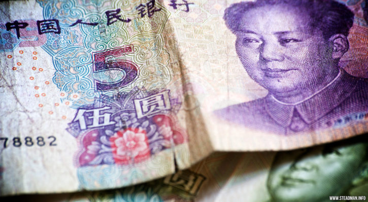 Trade Chinese Yuan against bitcoin