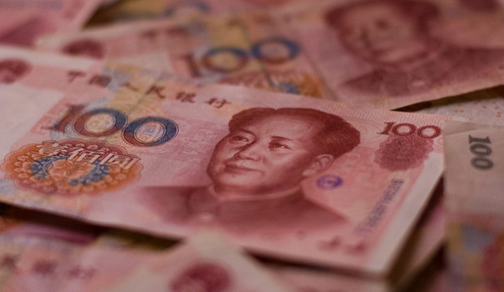 CNY/BTC trading